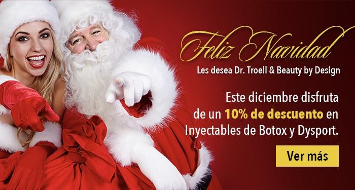 Feliz Navidad Les desea Dr. Troell & Beauty by Design